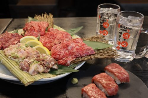 八代に出現した「焼肉ビル」!!田崎で人気の「焼肉ホルモン くたみや」本店が7月1日八代にオープン!