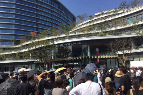 SAKURAMACHI Kumamotoがオープンしたので行ってきた!ついでに商店街の様子も見てきた