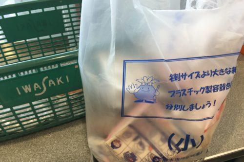 イワサキACEで買い物したら有料レジ袋の代わりにごみ袋を買えた話