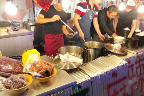思う存分火鍋を味わいたいなら10月1日PARCO屋上に期間限定でオープンした「台湾の台所」がマスト!