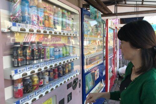 合志市豊岡にある謎の自動販売機でジュースを買ってみたら想像以上に感動した。
