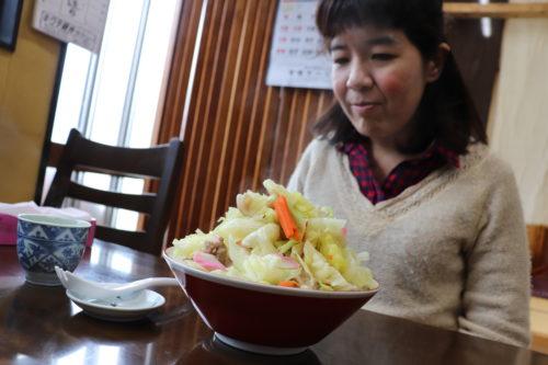【大食い!進撃のちえ】菊池の名店「焼肉のふか川」でちゃんぽんとカツ丼を食してきた