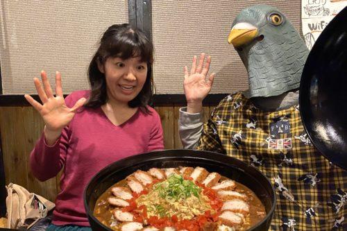 【進撃のちえシリーズ外伝】八代市の「居酒屋 風来坊」で総量3.5キロのカツ丼&カツカレーに挑んでみた‼︎