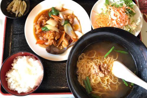 サラダもご飯もおかわりできて500円!「栄昌縁」の日替わりランチが衝撃価格!!