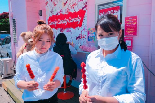 熊本発上陸!いちご飴専門店「candy candy candy」が新たな映えスポットだと話題に!?