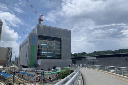 【2021年春開業予定】熊本駅に建設中のアミュプラザくまもとの工事現場に潜入してきた!