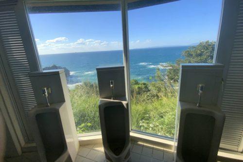 熊本で一番景色の良い男子トイレが天草にある!鬼海ヶ浦展望所の絶景トイレ